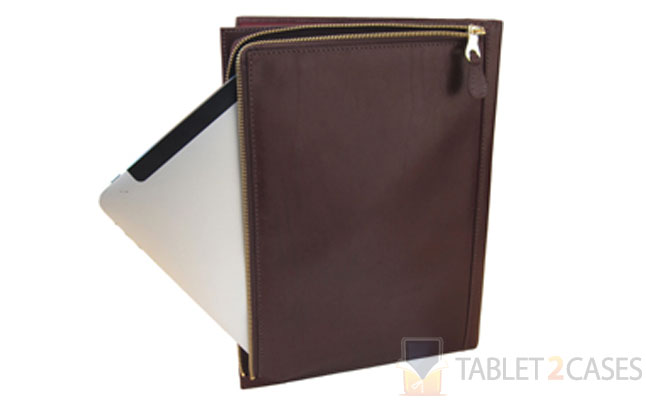Mulholland All Leather iPad Folio
