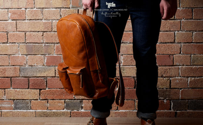 Old School Laptop Rucksack from Hard Graft