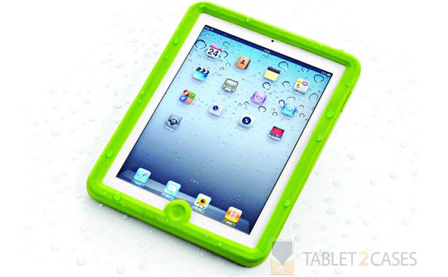 Lifedge iPad / iPad2 Waterproof Rugged Case in Green