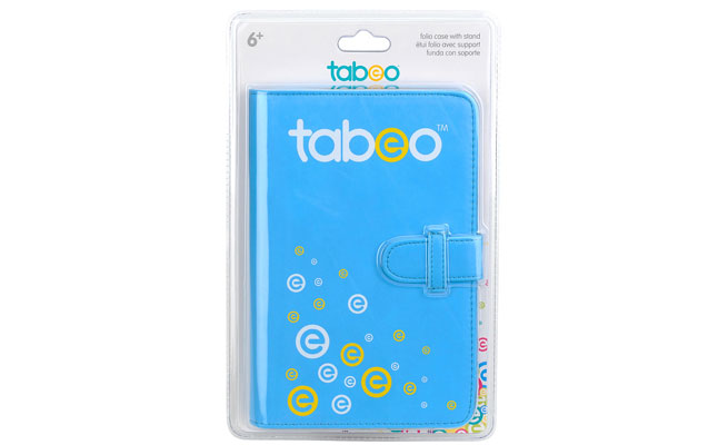 "Tabeo Folio Case from Toys ""R"" Us"
