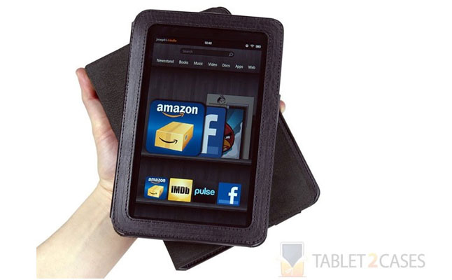 US+U Swivel ProFolio Kindle Fire Rotating Folio Case