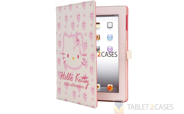 Hello Kitty Themed Apple iPad 2 / New iPad 3 Folio