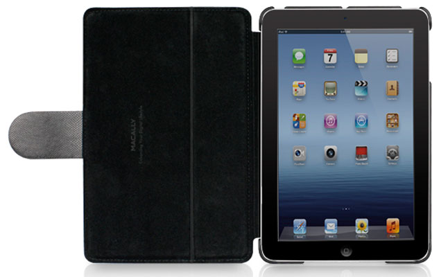 Macally Leather Case & Stand screenshot