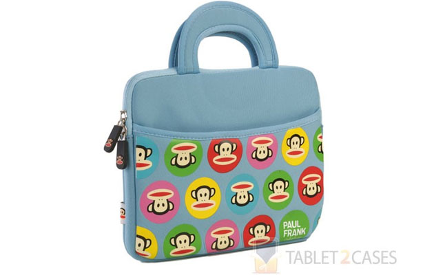 "Paul Frank Themed Apple iPad/10"" Tablet Sleeve"