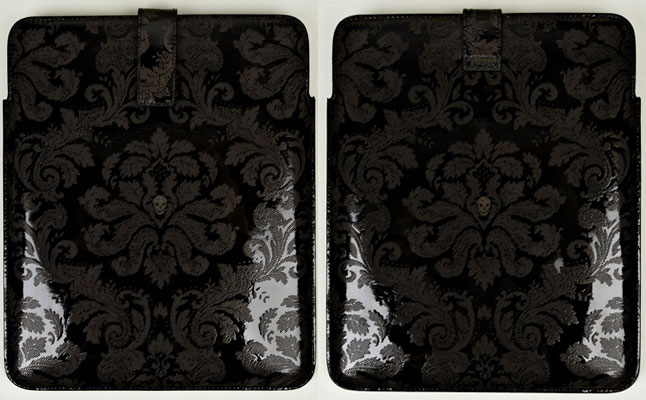 Alexander McQueen Flower and Skull iPad Case