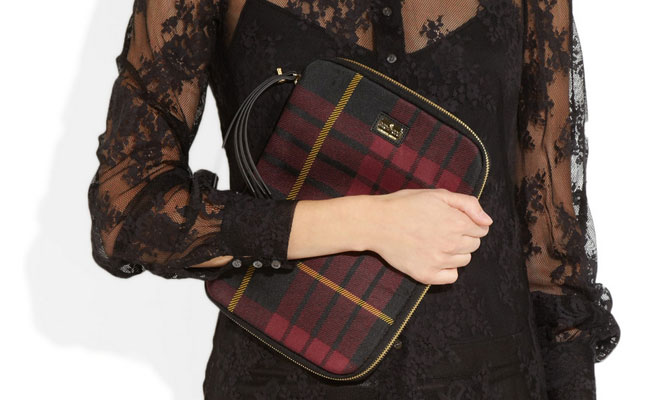 Tartan Jacquard iPad Case from Alexander McQueen review