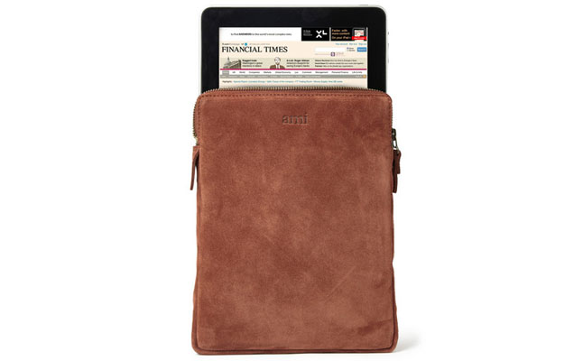 Suede iPad Cover from Ami