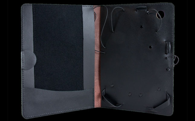 Artisan Leather Covers from Oberon Design