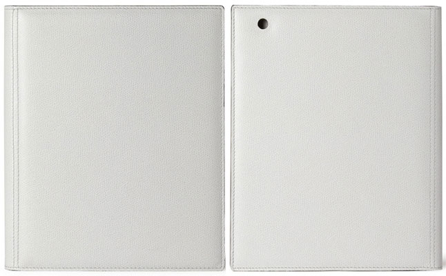 Valextra Leather iPad Cover