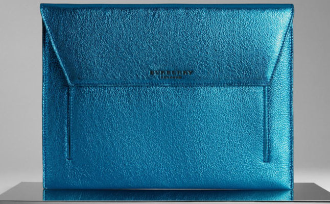 Burberry Metallic Leather Digital Case