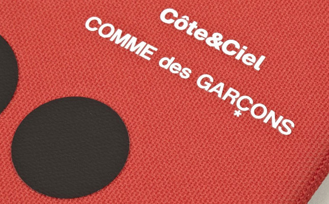 Red Contrast Spot fromComme des Garcons x Cote&Ciel