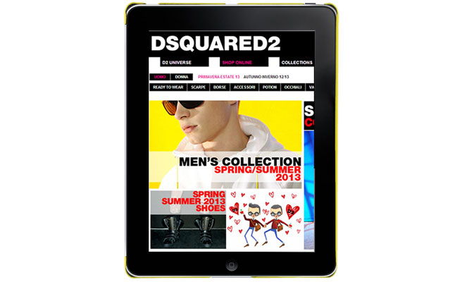 iPad Holder from DSquared2