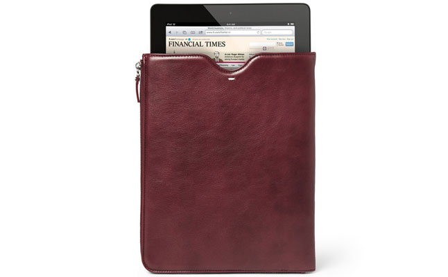 Leather iPad Cover from Maison Martin Margiela review