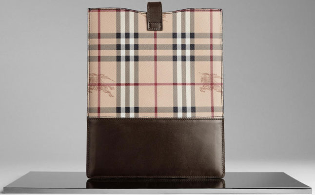 Burberry Haymarket Check screenshot