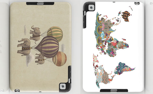 Society6 Back Protectors screenshot
