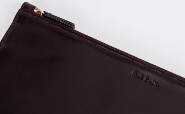 Paul Smith Brown Burnished Leather iPad Case screenshot