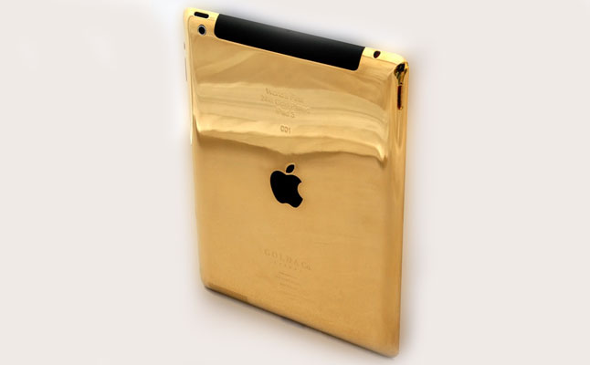 Gold & Co 24-carat Gold Plated iPad 3