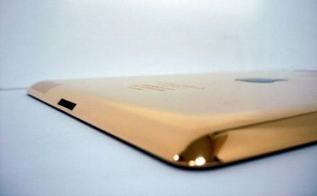 24-carat Gold Plated iPad 3 from Gold & Co