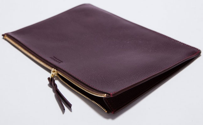 Zipper iPad Pouch from Lotuff & Clegg