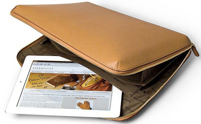 Leather iPad Case from Pierotucci