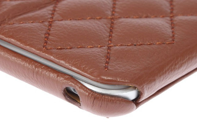 Quilted Leather Cover from Jisoncase review