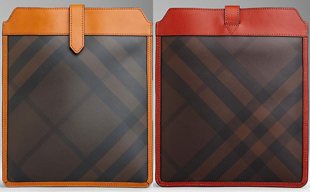 Burberry Smoked Check iPad Case