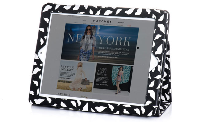 Diane von Furstenberg Lips Print iPad Cover review