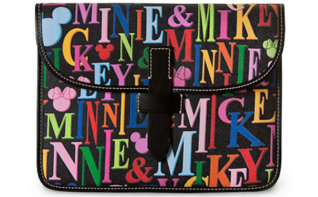 Disney x Dooney & Bourke Mickey and Minnie Mouse Rainbow iPad Case