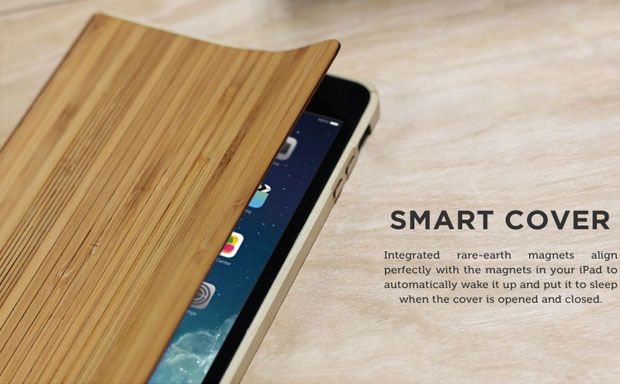 Grove Wood Smart Case screenshot