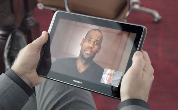 Lebron James Samsung