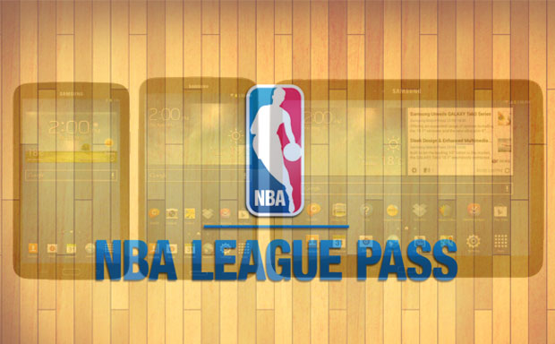 NBA League Pass on Samsung tablets