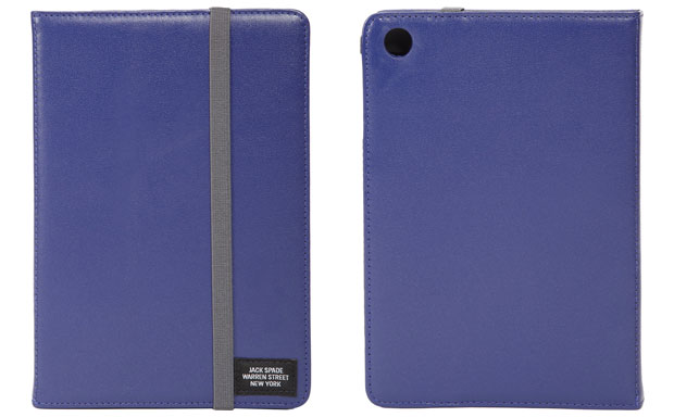 Jack Spade Leather Mini Tablet Case