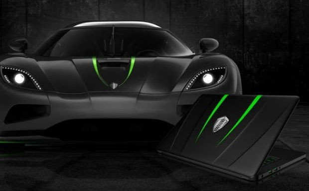 Koenigsegg and Razer laptop