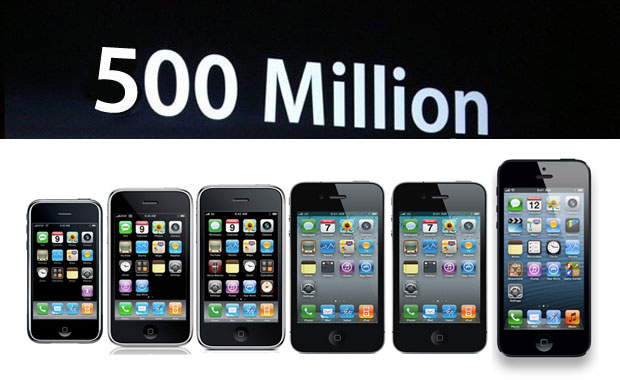 500 millionth iPhone sold