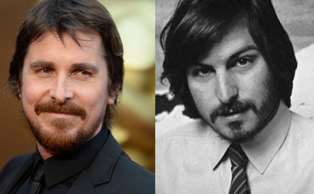 Christian Bale as Steve Jobs