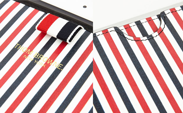 Thom Browne Men's Stripe Leather review