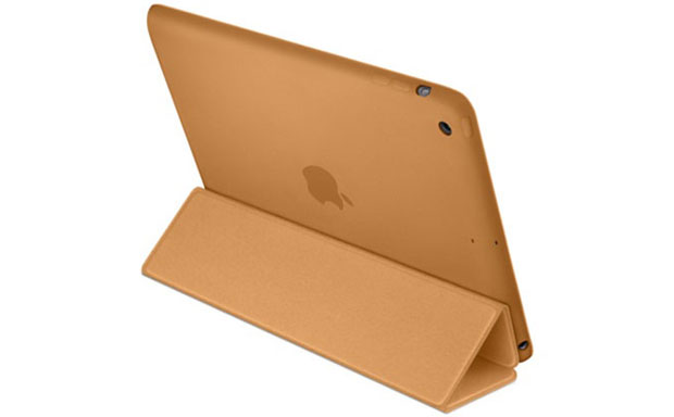 Original tablet folio case from Apple with minimalist looks and everyday functionality