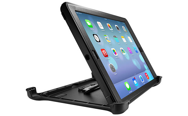 Multi-purpose case offering protection and integrated stand for the iPad Air