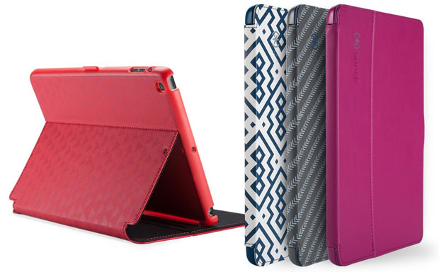 Speck StyleFolio delivers simple construction, but innovative features like clasp lock and speaker scoop
