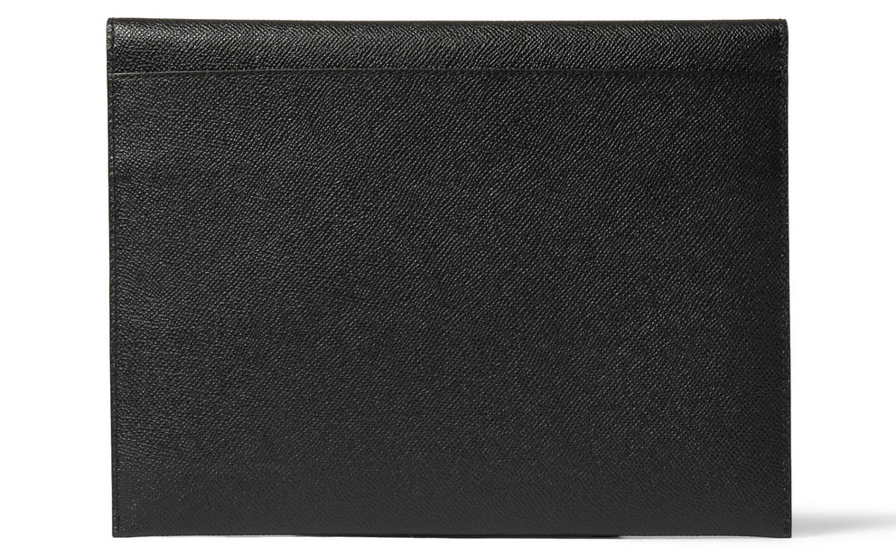 Burberry Cross-grain Leather Cover