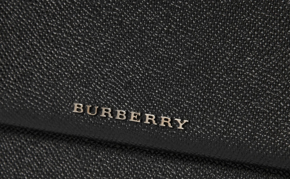 Burberry Cross-grain Leather Cover image