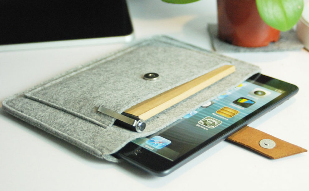 Feltk Felt iPad Mini Case review