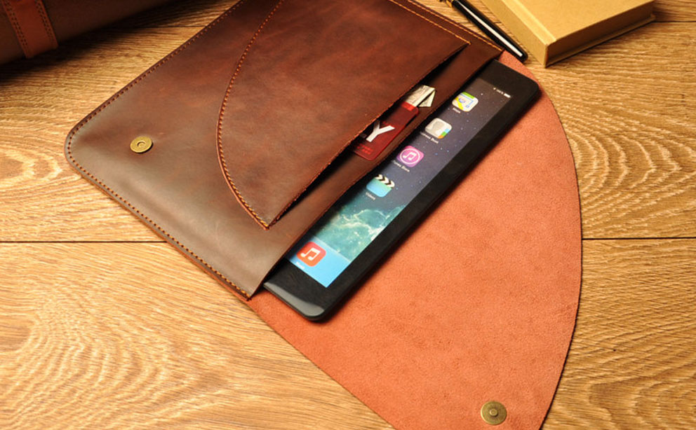 iProLeather Leather iPad Case image
