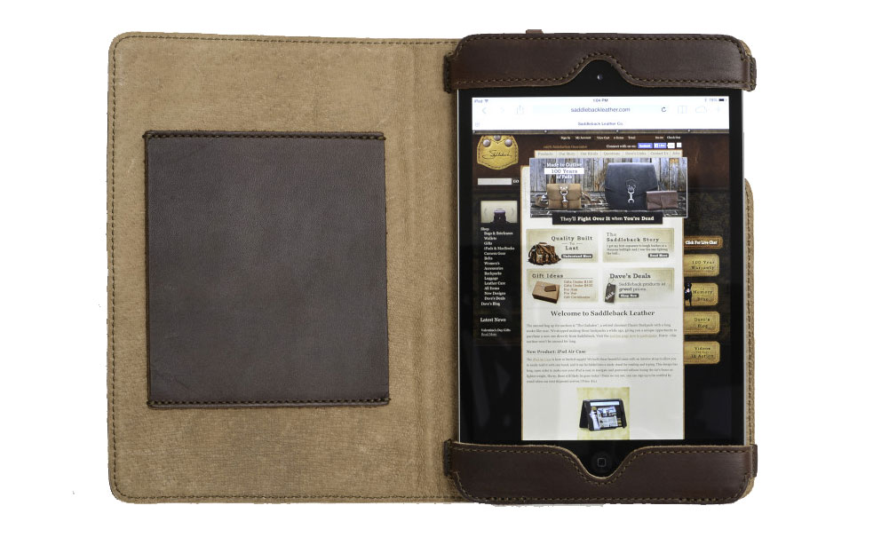 Saddleback Leather iPad Mini Retina Case review