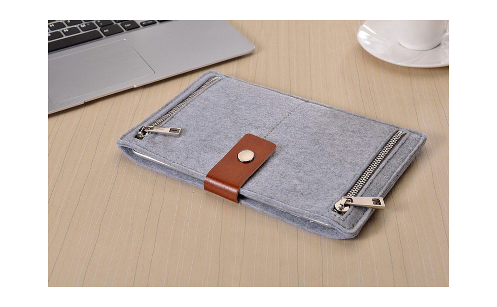 Autumn Store Felt iPad Sleeve