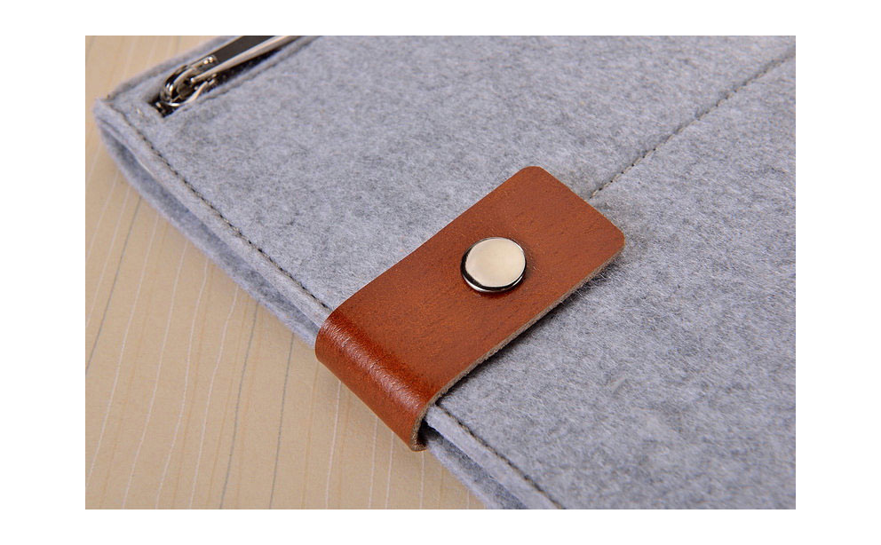 Autumn Store Felt iPad Sleeve image