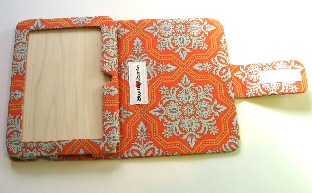 Studio Cherie Orange & Turquoise Cover review