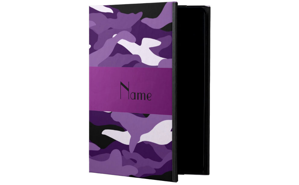 Zazzle Personalized Name Purple Camouflage review