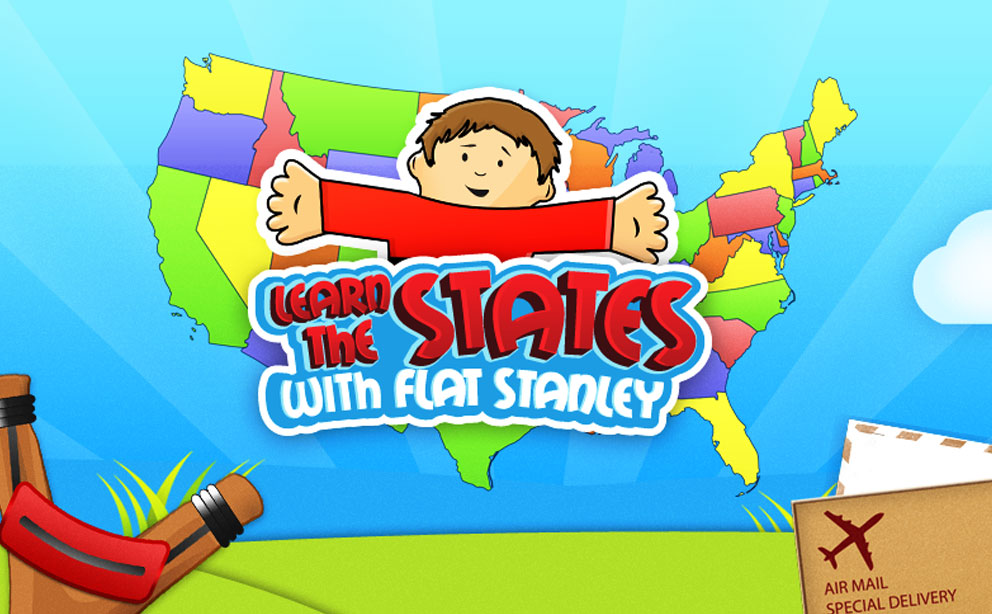 U.S. Geography with Flat Stanley HD app